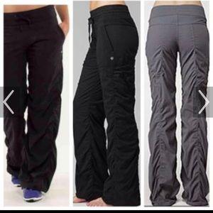Lululemon dance studio pants GREY sz 6